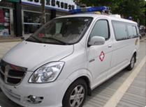 Donating Ambulance
